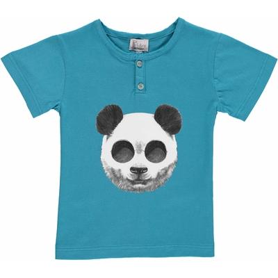 T-shirt turquoise - Panda
