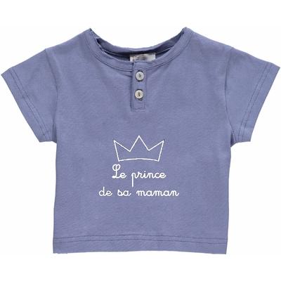 T-shirt bébé Encre - Le prince de sa maman