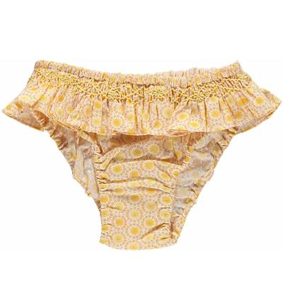 Bikini Fille - Imprimés jaunes