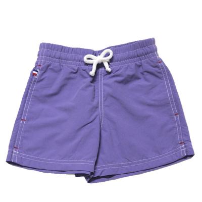 Maillot de bain garçon violet pastel