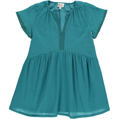 Robe Kate - Crêpe Vert