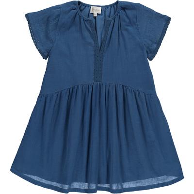 Robe Kate - Crêpe Bleu