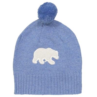 Bonnet Bébé Ours - Bleu Jean
