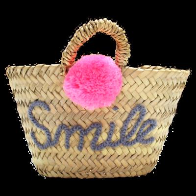 Panier osier - Smile
