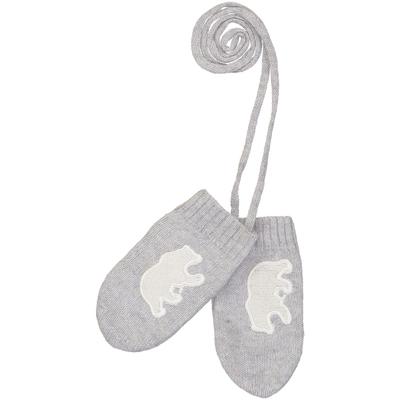 Moufles Bébé Ours - Perle