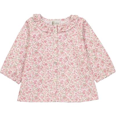 Blouse Bébé Laurette - Fleurs Roses