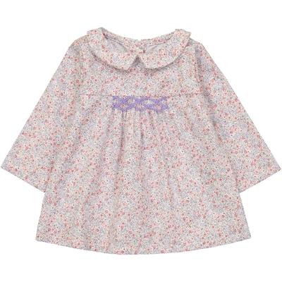 Blouse Bébé Madeleine - Fleurs Pastels