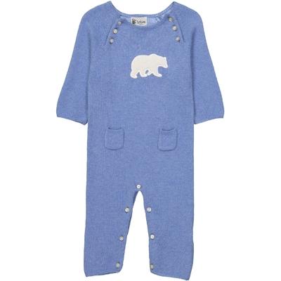 Combinaison Bébé Ours - Bleu Jean