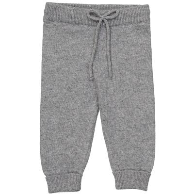 Pantalon bébé gris moucheté en laine