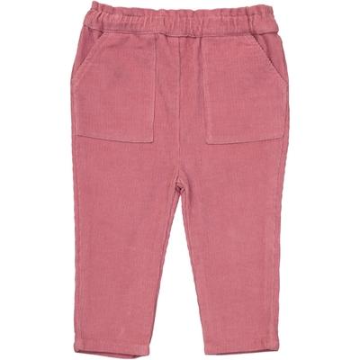 Pantalon Velours Fille - Vieux Rose