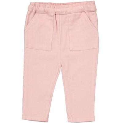 Pantalon Velours Fille - Rose Layette