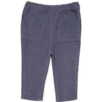 Pantalon Velours Garçon - Bleu Jean