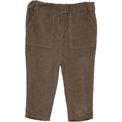 Pantalon Velours Garçon - Taupe