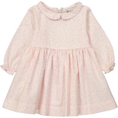 Robe Bébé Suzette - Rose Fleurs de Coton