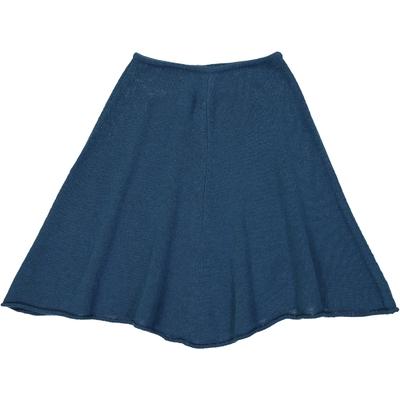 Poncho Fille - Bleu Pétrole