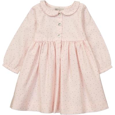 Robe Claire - Rose Fleurs de coton