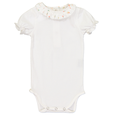 Body Blanc Col Froufrous - Glaces