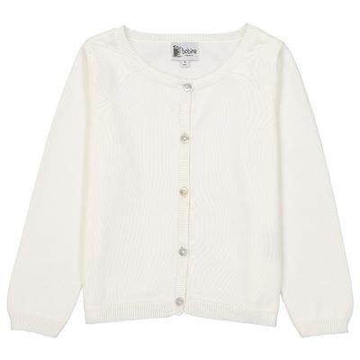 Cardigan - Blanc