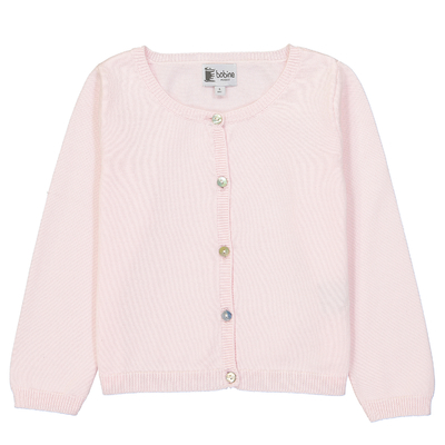 Cardigan - Rose pâle