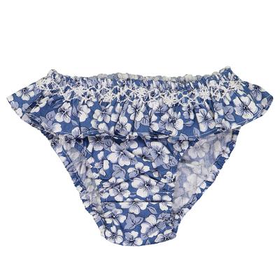 Bikini - Imprimés Fleurs Bleues