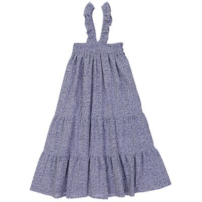 Robe Longue Alizée - Fleurs romantiques