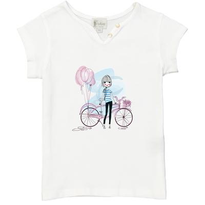 T-shirt Blanc - La Parisienne