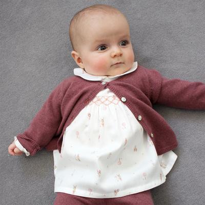 Blouse Bébé Madeleine - Cerf Rose