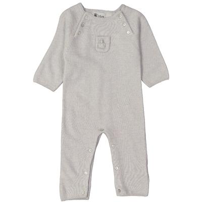 Combinaison bébé - Perle avec poche pompon