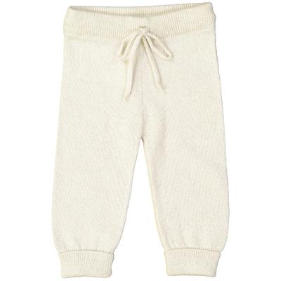Pantalon bébé - Blanc pailleté
