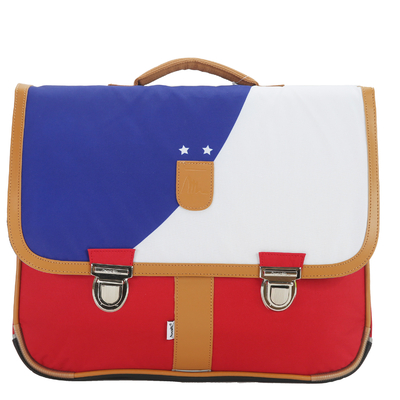 Cartable - Bleu, Blanc, Rouge
