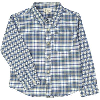 Chemise - Carreaux bleus et blancs