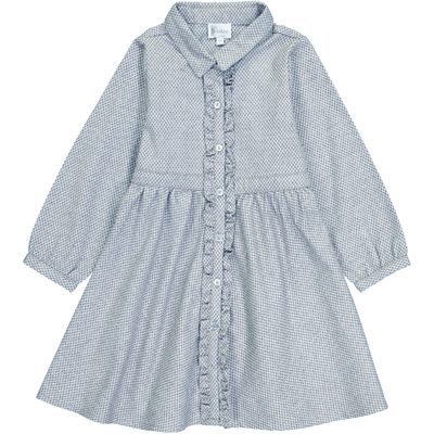 Robe Astrid - Bleu Ancien