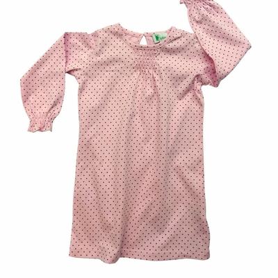 Chemise de nuit - Rose pois Chocolat<br>Disponible uniquement en 2 ans<br>