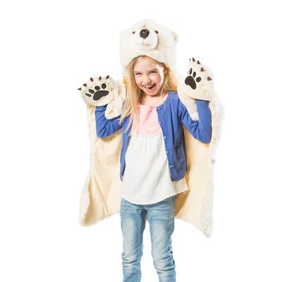 Déguisement peluche - Ours blanc