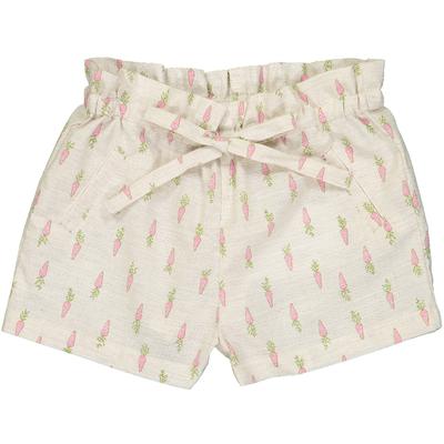 Short bébé Pénélope - Carottes roses