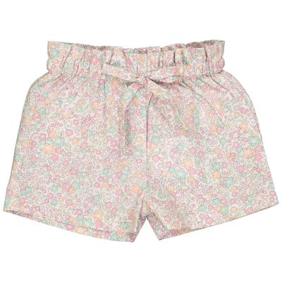 Short bébé Pénélope - Fleurs pastels