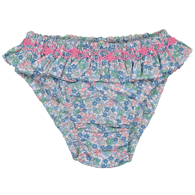 Bikini - Imprimé fleuri bleu