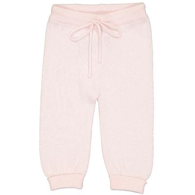 Pantalon bébé en coton poudre