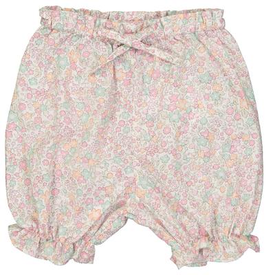 Panty volanté bébé imprimé fleurs pastels