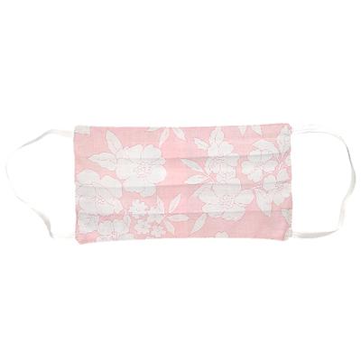 Masque adulte imprimé pink bloom