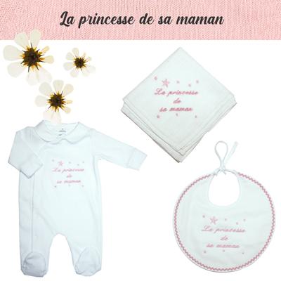 Accessoires de naissance - La princesse de sa maman