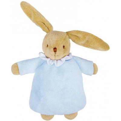 Hochet lapin nid d'ange bleu ciel