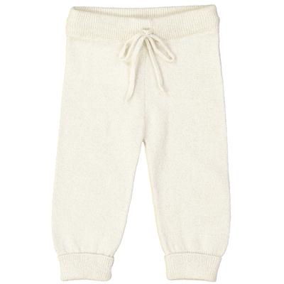 Pantalon bébé écru en laine