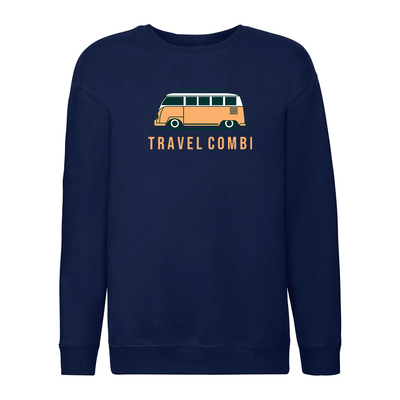 Sweat garçon à motif travel combi