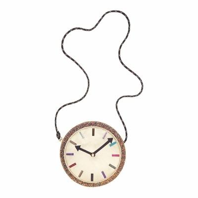 "Sac à bandoulière ""crazy clock"""