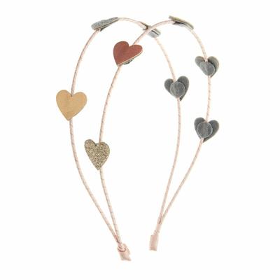 """Serre-tête girly """"love heart"""""""