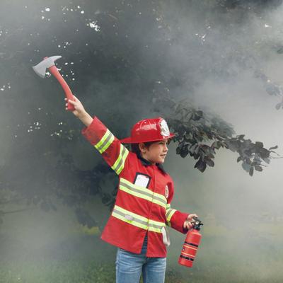 Déguisement de pompier avec accessoires