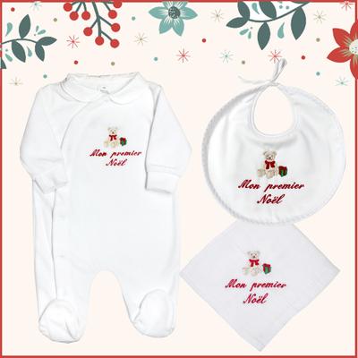 """Coffret cadeau """"Mon premier Noël"""" - Ourson"""