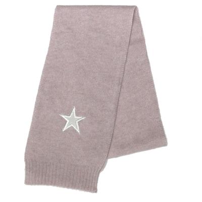 Echarpe bébé rose layette avec étoile