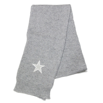 Echarpe bébé perle pailleté avec étoile